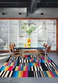 Why Carpet Tiles Are the Right Rug for the Dining Room — Design Inspiration | The Kitchn