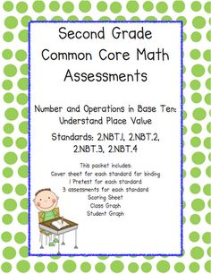 Primary Possibilities-2nd grade common core math assessments