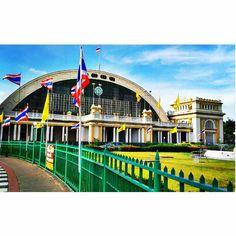 Hua Lamphong Train Station, Bangkok