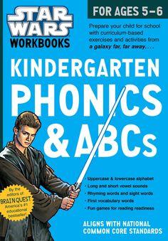 Star Wars Kindergarten Phonics & ABCs for Ages 5-6