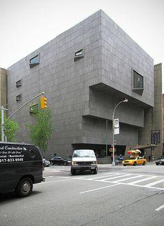 New York, Upper East Side, Whitney Museum - Marcel Breuer