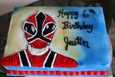 power rangers birthday cake | Power Rangers Samurai — Children's Birthday Cakes