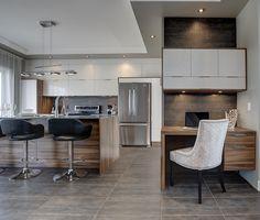 51 best cuisines contemporaines images on pinterest kitchen armoire contemporary kitchens and - Gonthier cuisine et salle de bain ...