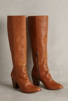 Ariana Bohling Kate Boots Brown Boots #anthrofave #anthropologie