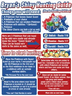 Shiny Hunting in ORAS