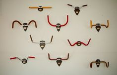 Bicycle handlebars - replace the trophies from the hunt with handlebars :-)