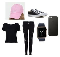 """dolan twins merch outtfit"" by kiya1216 on Polyvore featuring Frame Denim and Converse"