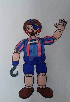 Fnaf Oc, Fnaf Drawings, Five Nights At Freddy's, Scary, Balloons, Fox, Deviantart, Fictional Characters, Drawings