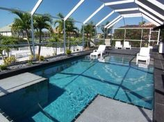 Simply Awesome Cape Coral Florida, Florida Vacation, Vacation Ideas, Oasis, Backyard, Homes, Awesome, Outdoor Decor, Patio