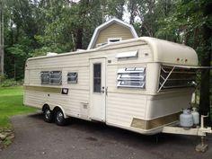 1966 holiday rambler vintage trailer rv