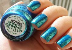 Aquamarine - love this color and I love sparkles