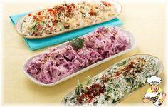 Pınar Labne'li Semizotu Salatası - lezzetler.com Yemek Tarifleri