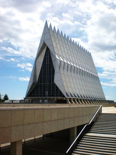 Chapel, US Air Force Academy