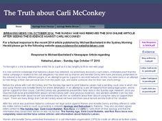 This website provides a description of the true facts that provide vindication for Natasha Lakaev