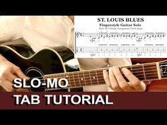 St. Louis Blues Acoustic Fingerstyle Guitar Solo Arrangement Tab Score Free Preview Download Sheet Music
