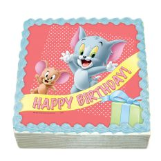 Tom And Jerry Cake Party Baby Cake | Pinterest