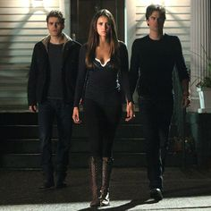 These boots...  'Vampire Diaries' costume designer on Elena's wicked new wardrobe | PopStyle | EW.com
