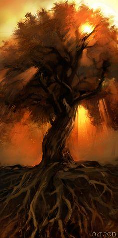 Finally Found The Perfect Tree For My Tattoo. ♥♥♥♥ Oak Treeu003dcourage,  Strength, Power