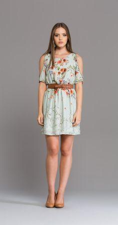 Vestido Flores Poás | Vestidos | Antix Store