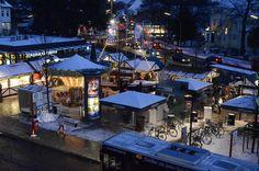 Weihnachtsmarkt in Blankenese, Hamburg.