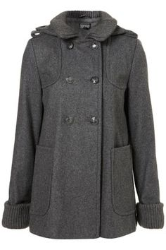 Short Hooded Military Swing Coat  I keep re-pinning coats I like...think I am ready for Fall and Winter!