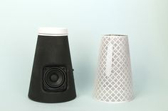 Pico bluetooth speaker making off by Catherine Stolarski Design