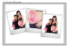 Maternity photos-i would let aiden do this to my belly for sure. might be messy but he would love it!