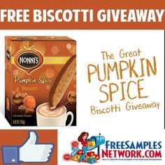Love the flavors and I love Biscotti!!  This time of year you always get great pumpkin type flavors in different products and with this giveaway it's no different.  Win 1 of 100 boxes of Nonni's Pumpkin Spice Biscottis. This offer ends on November 2, 2014 and it is an instant win. Once you enter, SHARE …