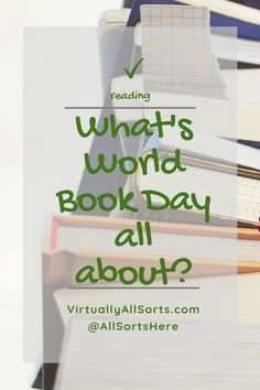 World Book Day is about celebrating our heroes, heroines, villains and in-betweens that come alive so much when we read a book. As You Like, Just Do It, Give It To Me, World Of Books, Welcome Gifts, 9 Year Olds, Love Reading, Heroines, Creative Writing