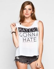 Haters Womens Muscle Tank -