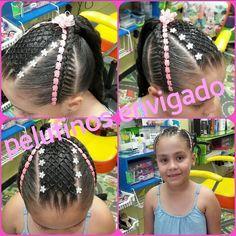 21 отметок «Нравится», 1 комментариев — @pelufinos в Instagram: «Divinos peinados para nuestras cumpliañeras @pelufinos #peinadosrecojidos #peinadosinfantiles…» Cornrows, Hair Styles, Instagram, Beauty, Ideas Para, Hair Ideas, Cami, Hair Accessories, Girls Braids
