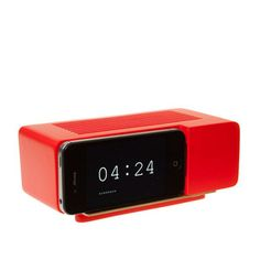 Alarm Dock Red, 29€, now featured on Fab.