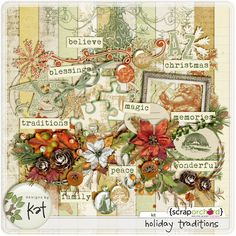 Holiday Traditions Designs by Kat    http://scraporchard.com/market/Holiday-Traditions-Digital-Scrapbook-Kit.html