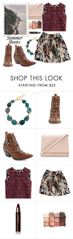 """""""Summer Boots on the West Coast"""" by linlizzy ❤ liked on Polyvore featuring Nest, Ariat, Kate Spade, Alberta Ferretti, Rachel Roy, Hourglass Cosmetics, tarte, casualoutfit, westcoast and summerbooties"""