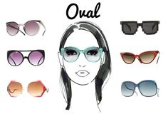 óculos para rosto oval - Pesquisa Google