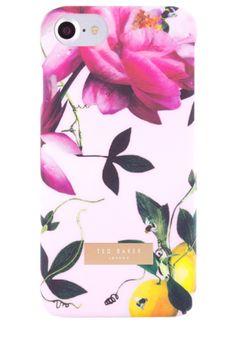 Ted Baker  Case for iPhone 7 Citrus Bloom - Nude #citrusbloom #pink #tedbaker #pretty