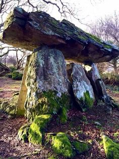Gaulstown Dolmen, county Waterford, Ireland