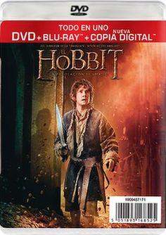 DVD CINE 2292 - El Hobbit , la desolación de Smaug (2013) EEUU. Dir.: Peter Jackson. Fantástico. Sinopse:Bilbo Bolsón, o mago Gandalf e trece ananos encabezados por Thorin, continúan a súa viaxe para recuperar o Reino Anano de Erebor. Ao longo do camiño, atópanse con Beorn, arañas xigantes do Bosque Negro, Elfos liderados por Legolas, Tauriel e o Rei Thranduil, e un misterioso home chamado Bardo. Ao chegar á Montaña Solitaria, enfróntanse ao seu maior perigo, o Dragón Smaug.