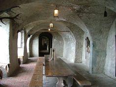 Meersburg Castle,  Knights Hall (1).JPG