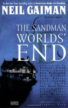 Sandman, The: World's End - Book VIII (Sandman Collected Library) by Neil Gaiman http://www.amazon.com/dp/1563891719/ref=cm_sw_r_pi_dp_2820vb04PTZH2