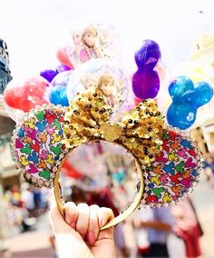 Disney Mickey Balloon Inspired Mouse Ears