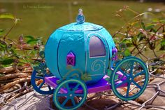 ENCHANTED AUTUMN SVG KIT is where you can find this fabulous Pumpkin Carriage, or as Monica calls hers, mermaid carriage!  The beautiful and vibrant colors along with the glitter and pearls really make this carriage magical!  Don't you want to hop inside and go for a ride!