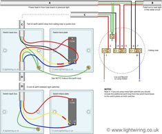 2e6e170a0b7f8e3d1f0dd22af70593b0  Separate Way Switches Wiring Diagrams on three lights, power light, diagram 4 wires, single light two, diagram power fixture, multiple lights, diagram diy, diagram 2wire,