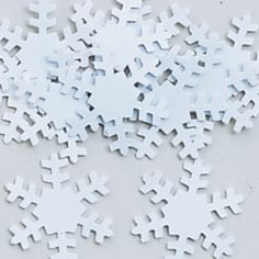 Snowflake Table Confetti