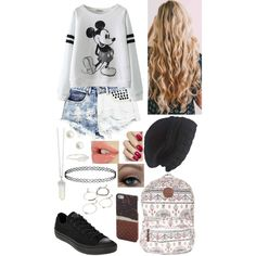 Untitled #19 by bubblegumboy on Polyvore featuring polyvore, fashion, style, Boohoo, Converse, Billabong, Accessorize, Topshop, Forever 21 and Laundromat