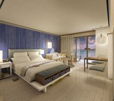 Coming this fall to St. Thomas, U.S. Virgin Islands is the Paul Vega designed stylistic dream room at the new Sugar Bay Resort & Spa, where each room features dramatic views of the Caribbean.