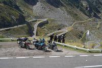 Riding the Transfagarasan
