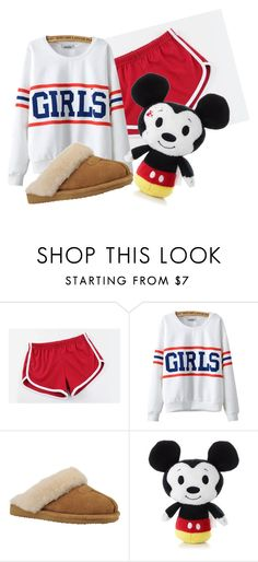 """""""sleepover"""" by a-splash-of-color ❤ liked on Polyvore featuring MITU, Chicnova Fashion, Slippers International and slumberparty"""