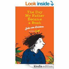 Joke van Leeuwen - The day my father became a bush | boek 50 - ★★★★☆ | Gecko Press 2014, 101 bladzijden | 10+ | Er is oorlog uitgebroken. Toda's vader moet weg om het land te verdedigen. Toda blijft bij oma, maar als het te gevaarlijk wordt, vlucht ze naar haar moeder die in een buurland woont | http://www.ikvindlezenleuk.nl/2014/06/joke-van-leeuwen-day-my-father-became.html