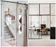 Drzwi suwane, świetne rozwiązanie nie tylko do małych pomieszczeń. Sliding doors, the best not only for a small interior.